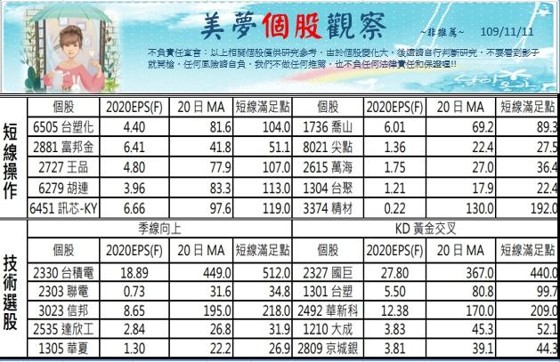 1091112美夢冠軍-股市+MSCI調整_16