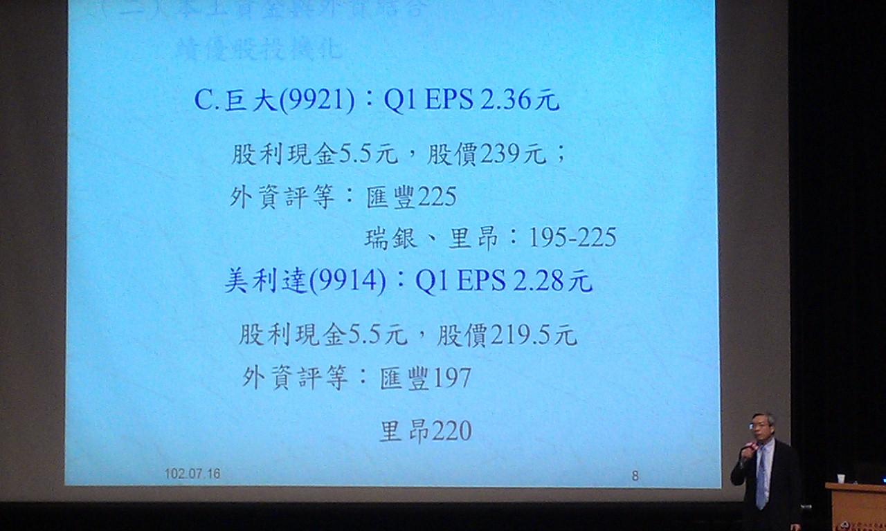 7/16 謝金河 台股下半年 演講圖片分享(1)勿追高個股_07