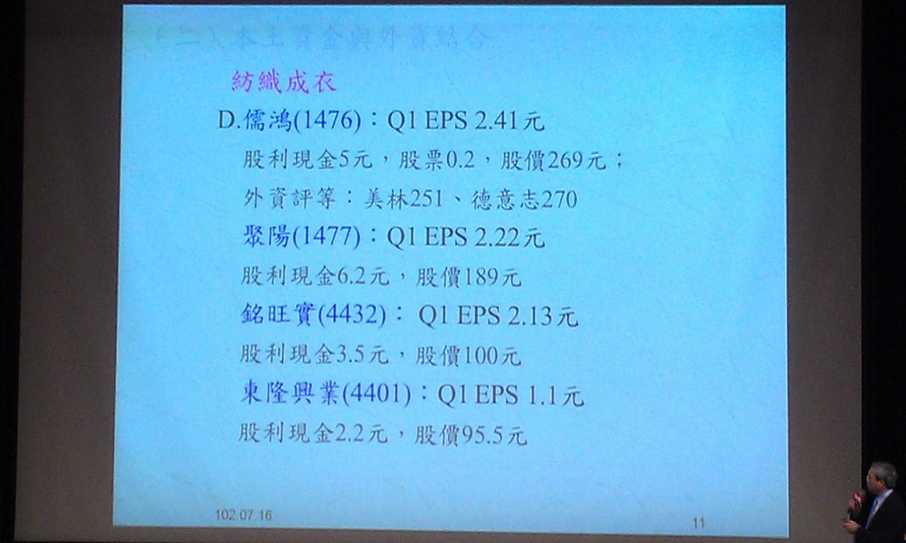 7/16 謝金河 台股下半年 演講圖片分享(1)勿追高個股_08