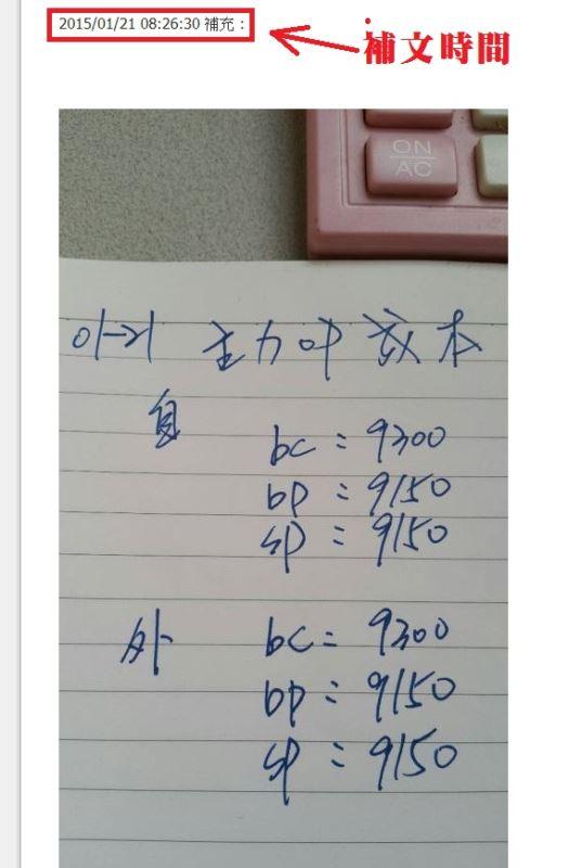 主力OP成本達陣!!!!