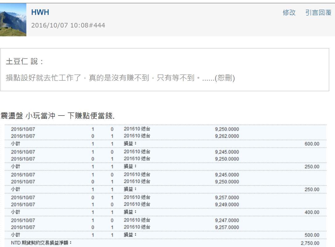 學員用關卡價日賺6萬的戰法分享_31