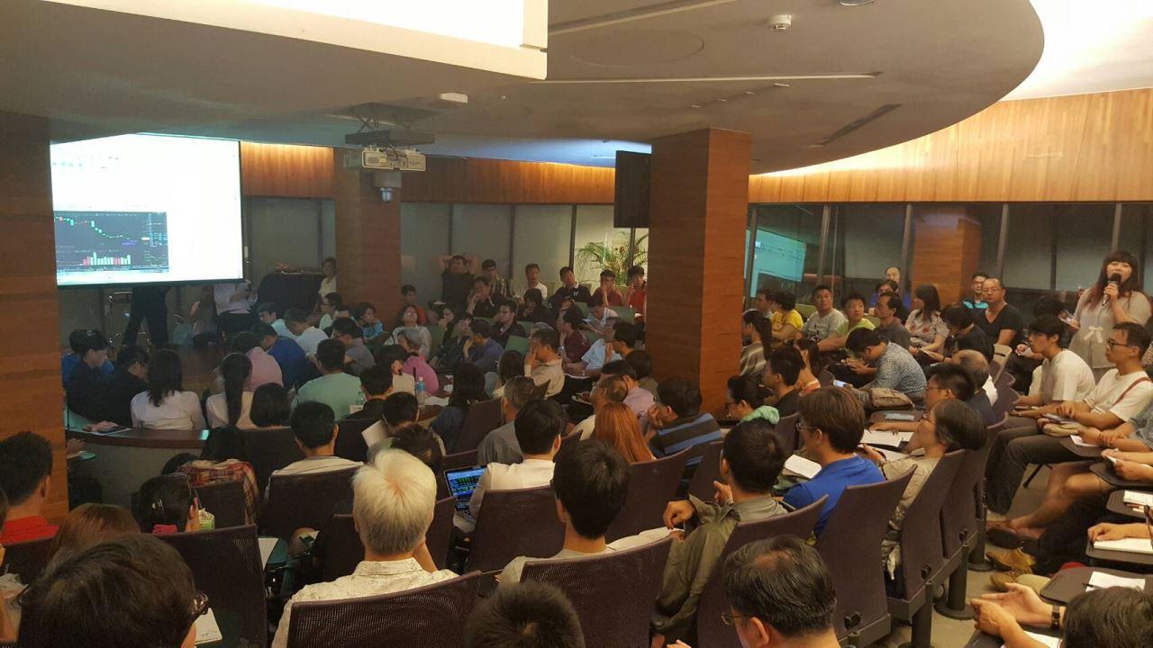 五百點獲利講座-學員擠爆會場