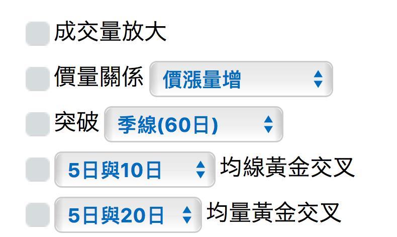 【智慧選股】:多方- 技術面選股_04