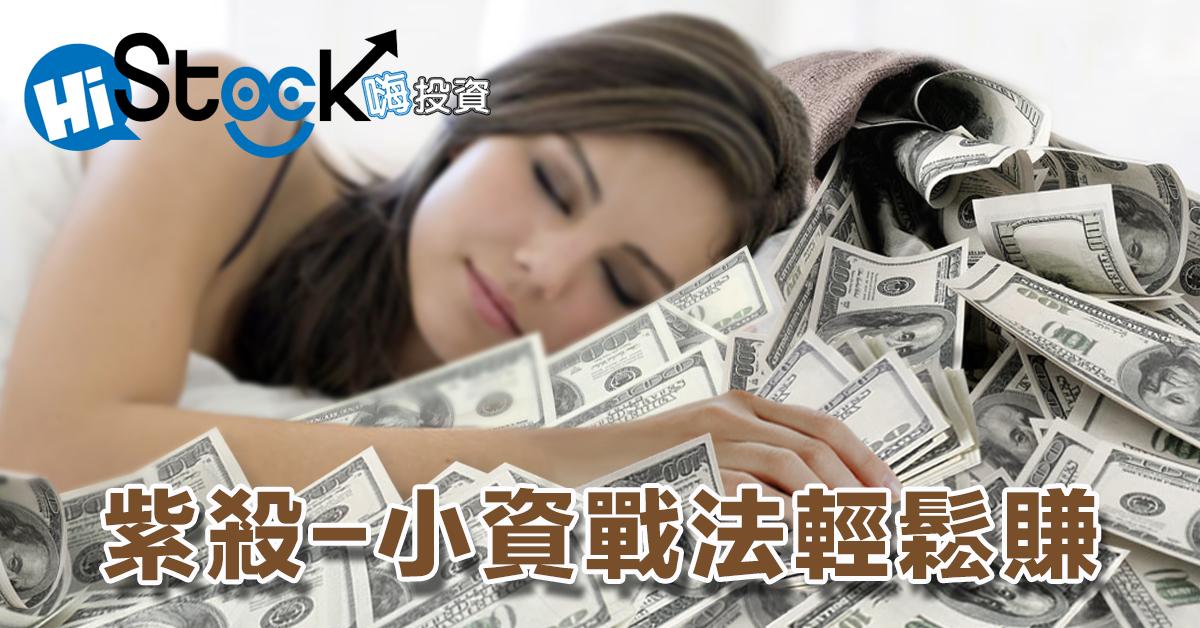 【紫殺-系統選股】教您用小資戰法輕鬆賺!