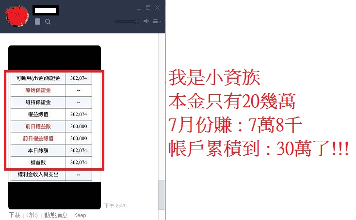 學員現身分享:靠【壓關撐】用20萬 月賺7萬8!!!_03