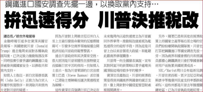 0823金新聞-稅改有譜,道瓊大漲。_05
