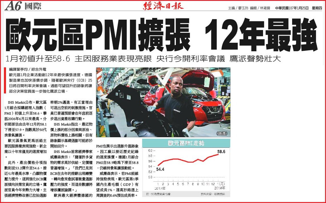 金新聞0125-歐銀或樂觀維穩,美指失守90關口。_09