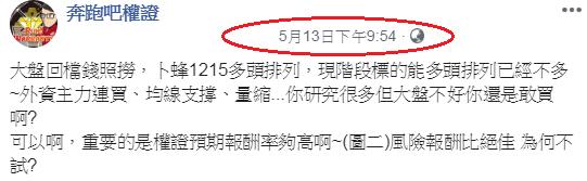中美戰不停外資賣不停~5/18奔跑吧權證!週盤勢分析_07