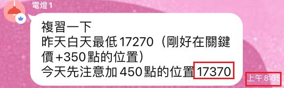 09/03連學生都會抓今天低點17370一點不差~厲害啊【簡易當沖術】_05