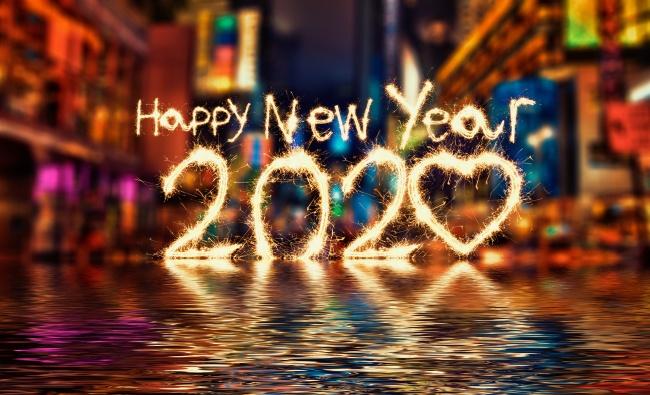 豐收一整年、祝2020新年快樂!