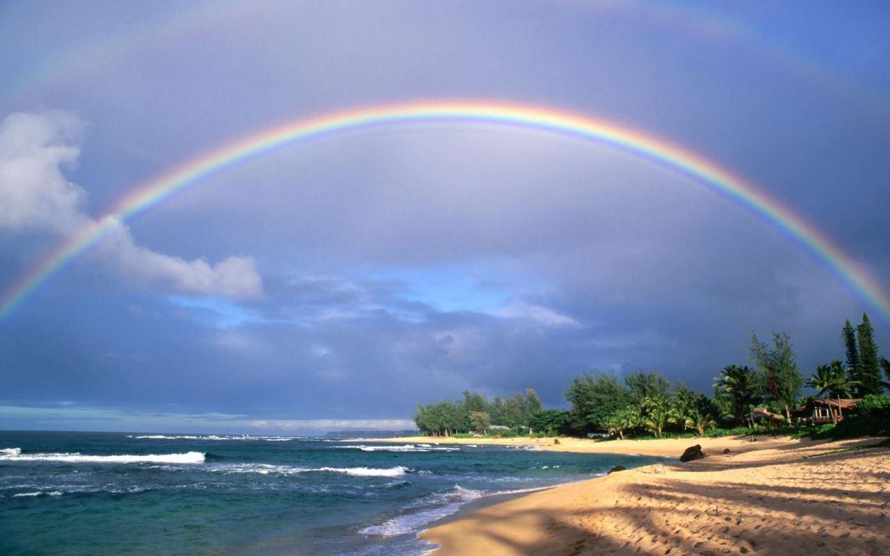何時見彩虹?