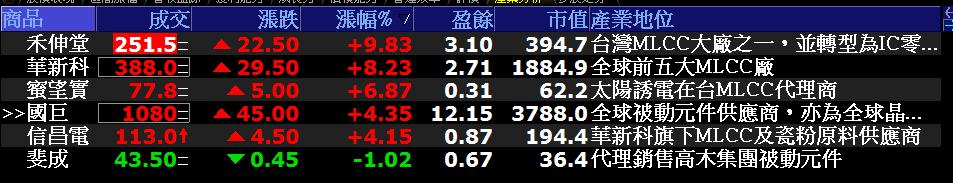 0627-資金流向【被動元件指標】-XQ選股-個股產業地位_02