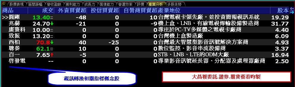 0807-資金流向【視訊轉換相關指標】-XQ選股-個股產業地位_02