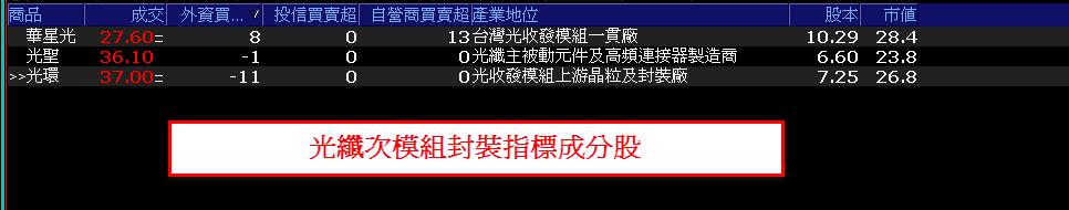 0718-資金流向【光纖次模組封裝指標】-XQ選股-個股產業地位_02