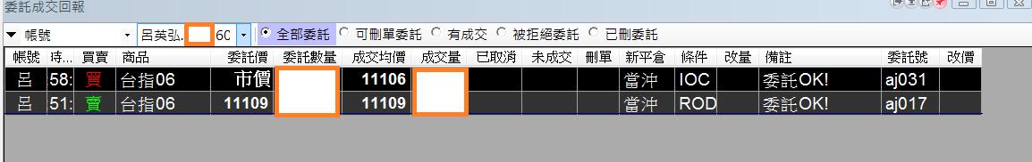 台指當沖程式V1.0績效( 2018 06 06)