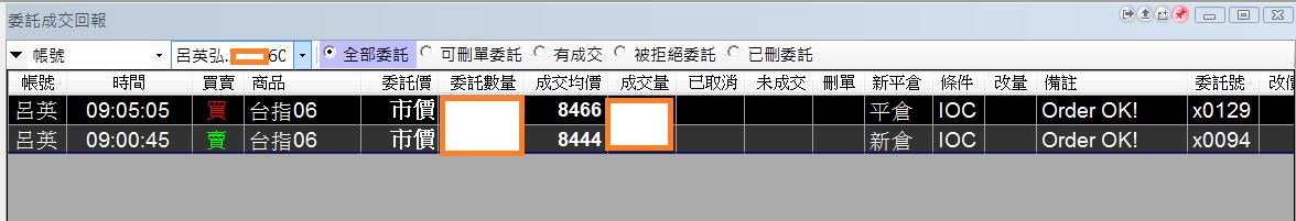 台指期當沖程式(2016 05 27 )