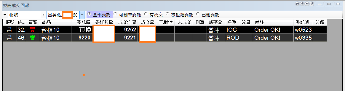 台指期當沖程式(2016 10 12)