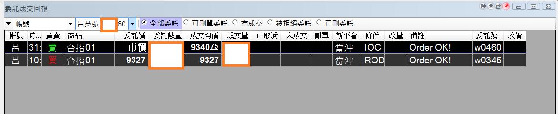台指期當沖程式實戰績效 (2017 01 10)