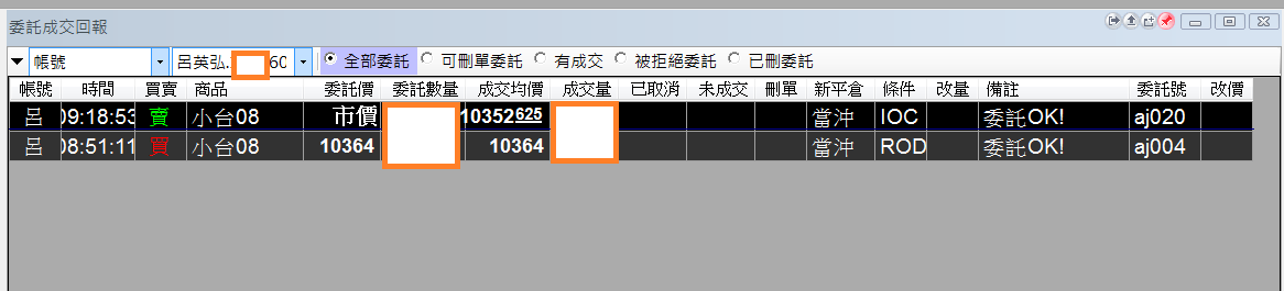 台指當沖程式 V1.0 績效( 2017 07 25)