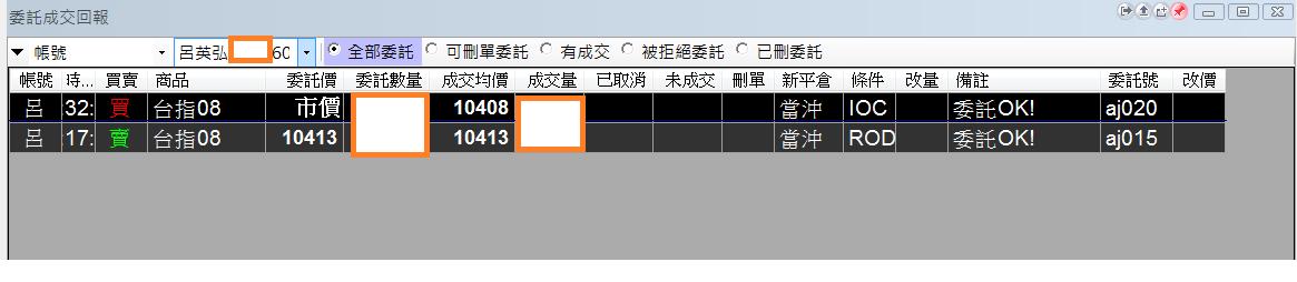 台指當沖程式 V2.0 績效( 2017 07 26)