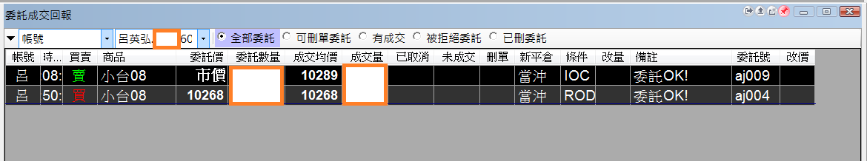 台指當沖程式 V1.0 實戰績效( 2017 08 16)