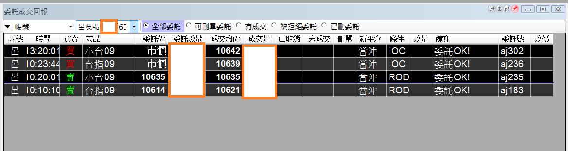 台指當沖程式V2.0與 V1.0當沖程式績效( 2017 09 18)