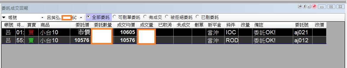 台指當沖程式 V1.0 績效( 2017 10 11)