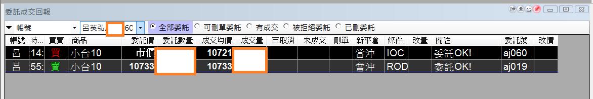 台指當沖程式 V1.0 績效( 2017 10 16)