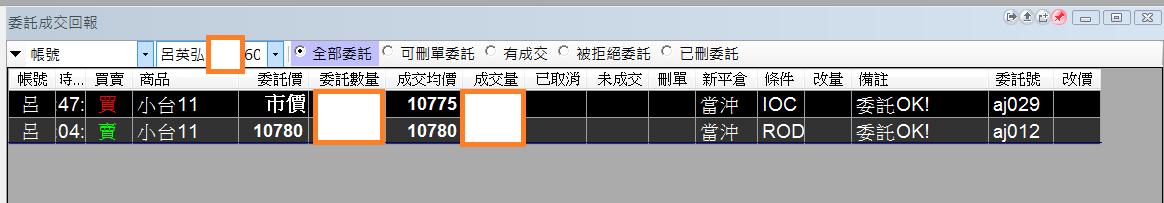 台指當沖程式 V1.0 績效( 2017 11 02)