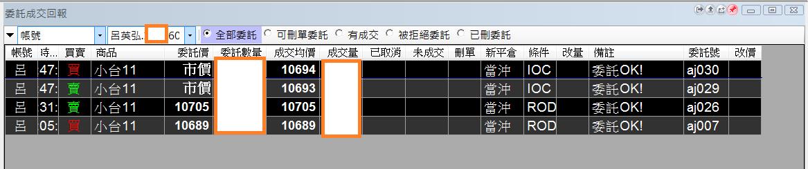 台指當沖程式V2.0與 V1.0當沖程式績效( 2017 11 10)