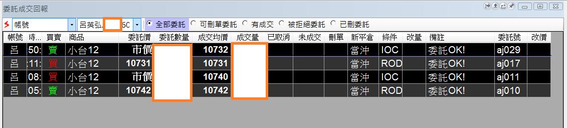 台指當沖程式V2.0與 V1.0當沖程式績效( 2017 11 29)