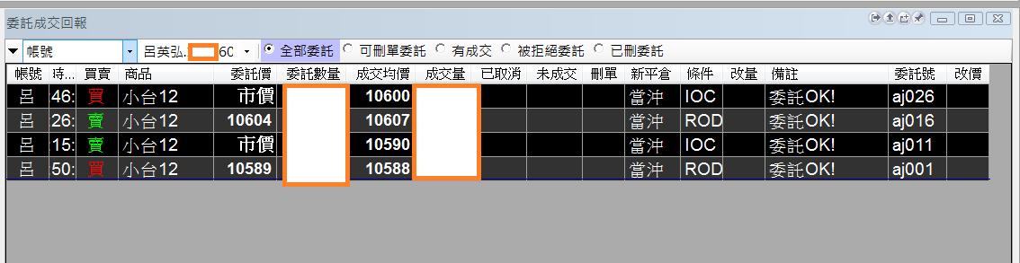 台指當沖程式V2.0與 V1.0當沖程式績效( 2017 12 05)