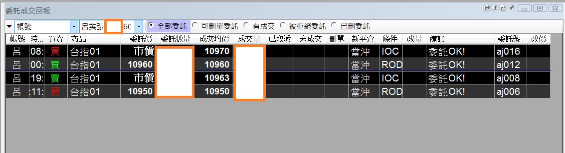 台指當沖程式V1.0績效( 2018 01 17 )