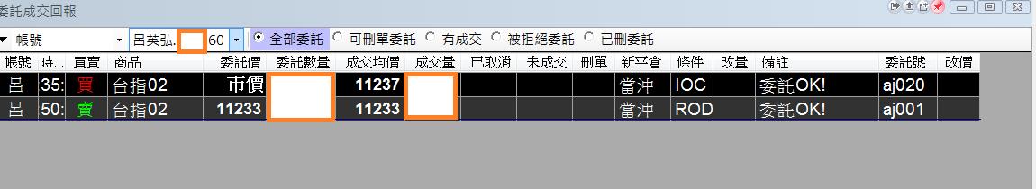 台指當沖程式V1.0績效( 2018 01 23)