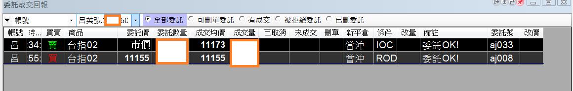 台指當沖程式V1.0績效( 2018 01 30)
