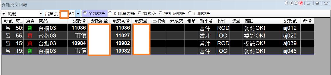 台指當沖程式V1.0績效( 2018 03 16)