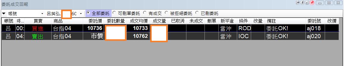 台指當沖程式V1.0績效( 2018 03 23)