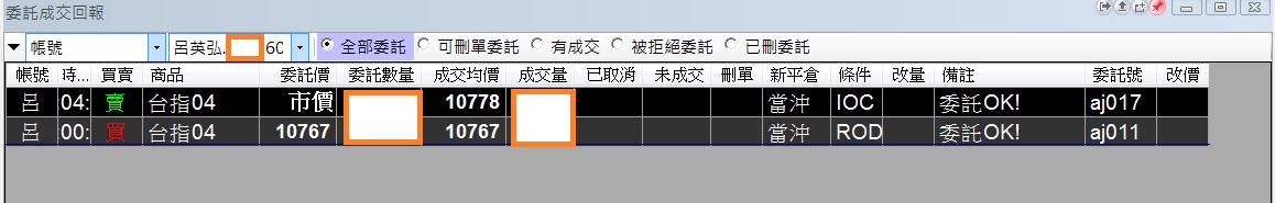 台指當沖程式V1.0績效( 2018 04 03)