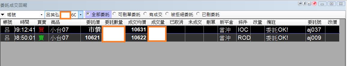 台指當沖程式V2.0績效( 2018 07 09)