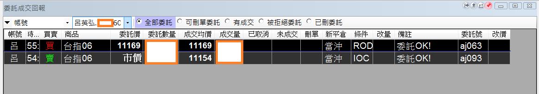 台指當沖程式V1.0績效( 2018 06 08)