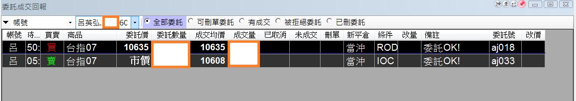 台指當沖程式V1.0績效( 2018 06 22)