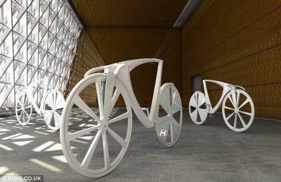 Wow 美國Dezien創新懸浮單車 可透過USB端對手機充電_02