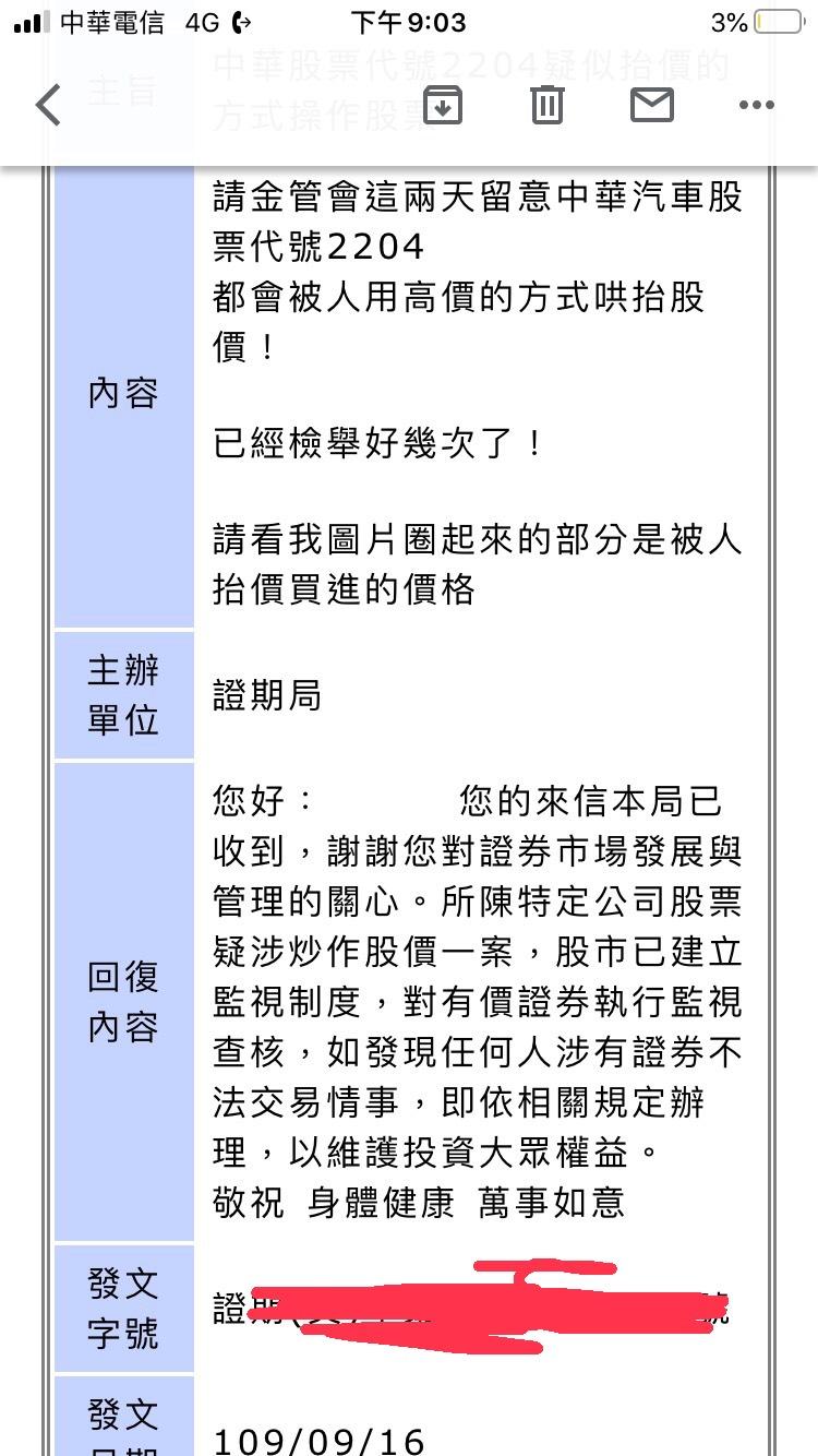 當心 中華2204外資炒飯?抬轎嗎?已向金管會檢舉 摩根大通?香港上海匯豐?