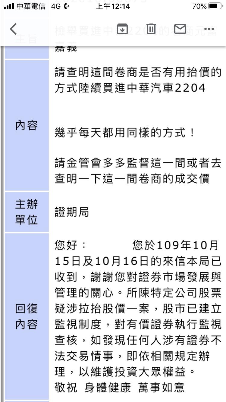 中華2204嘉義元富卷商炒飯??以檢舉金管會!