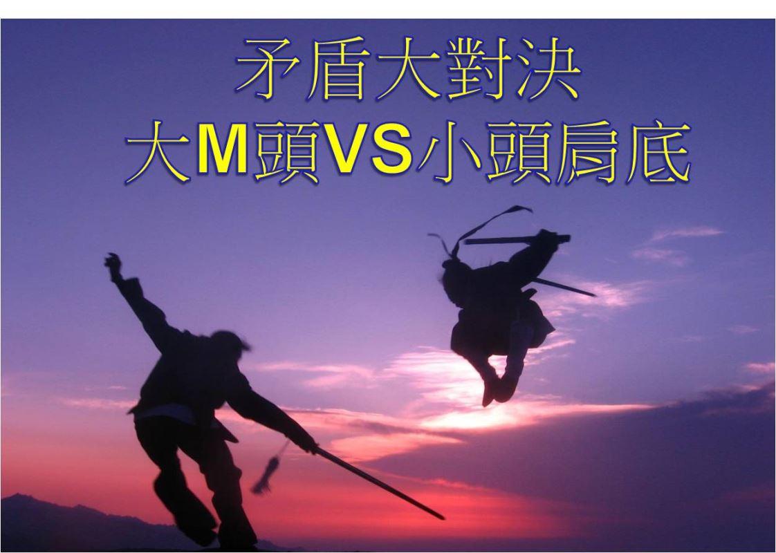 【矛盾大對決】:大M頭VS小頭肩底