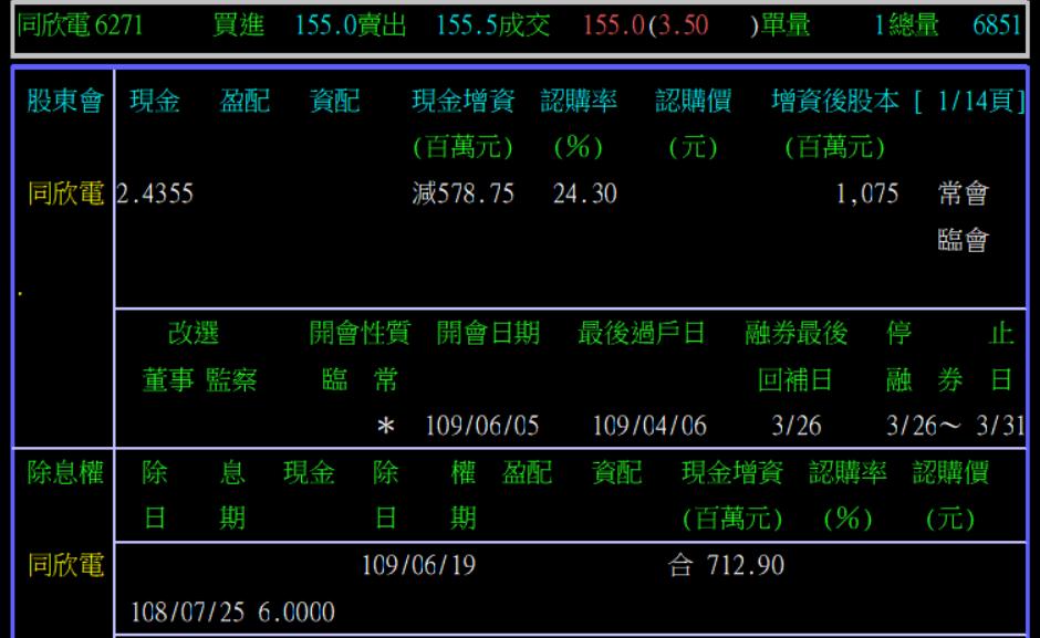 6/18 周四  減資: 以6271 同欣電為例_02